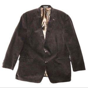 Ralph Lauren Corduroy Sport Coat Paisley Lining